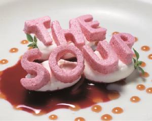elBulli's Letter Soup dessert